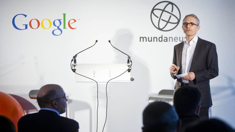 Partenaire privilégié de Google, le Mundaneum poursuit son travail d'archives... avec les technologies de son temps ! Copyright Google Bruxelles