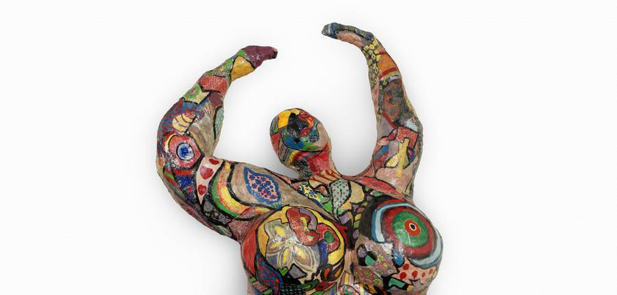 "Niki de Saint Phalle,"" Lili ou Tony"", 1965 © 2018 NIKI CHARITABLE ART FOUNDATION, All rights reserved.  Photo : © André Morin / Courtesy Galerie GP & N Vallois, Paris"