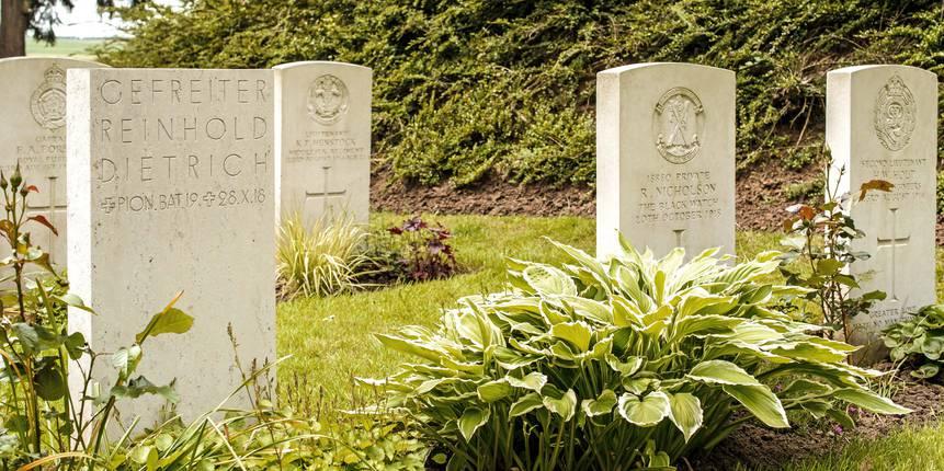 Mons, cimetière Saint-Symphorien