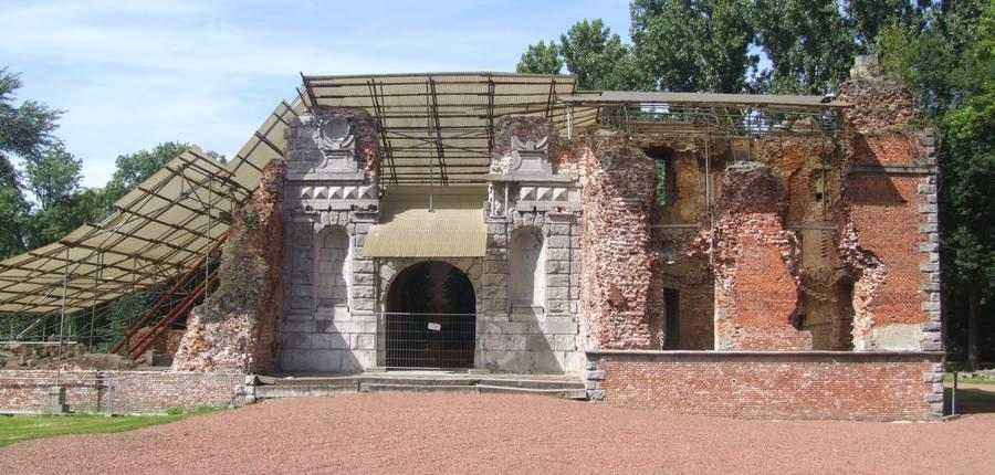 Ruines du Château de Boussu