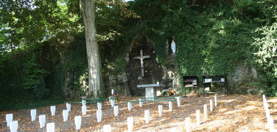 Grotte Notre Dame de Lourdes-Lens