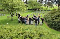 Visite du cimetière Saint-Symphorien