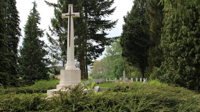 LIST OF MILITARY CEMETERIES AROUND MONS