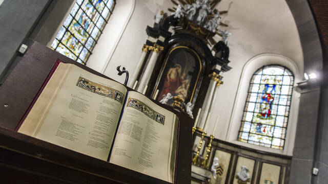 Frameries honours its patron saints (Frameries)
