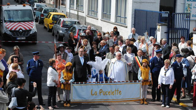 The « Pucelette » and the Tour de Wasmes (Colfontaine)