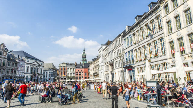 The Grand-Place, a must-see in the Mons landscape