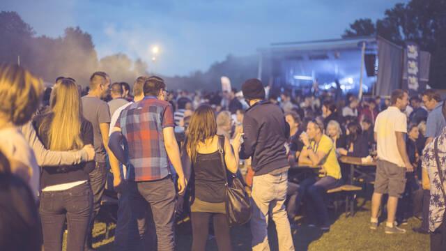 The Jurbise festival of beer
