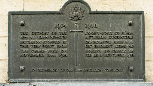 4. Commemorative Plaques In Casteau
