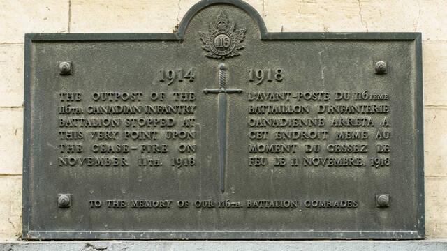 4. Commemorative Plaques In Casteau