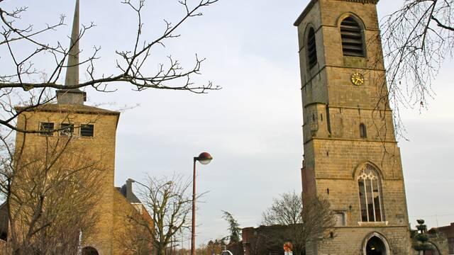 The tower of Ockeghem - Saint-Ghislain