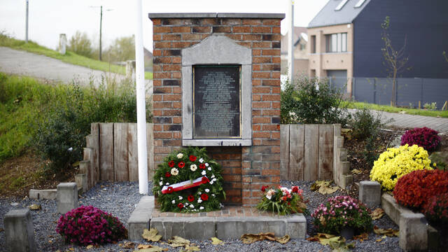 12. George Price Memorial at Ville-sur-Haine
