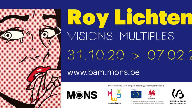 """Roy Lichtenstein """"Multiples Visions """""""