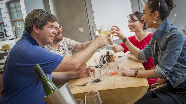 Restaurants, bars and accommodation