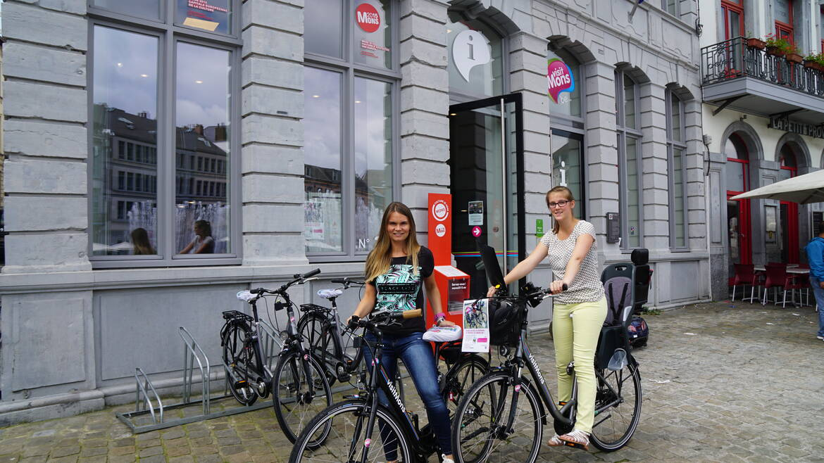 Rent a bicycle and discover Mons and its Region!