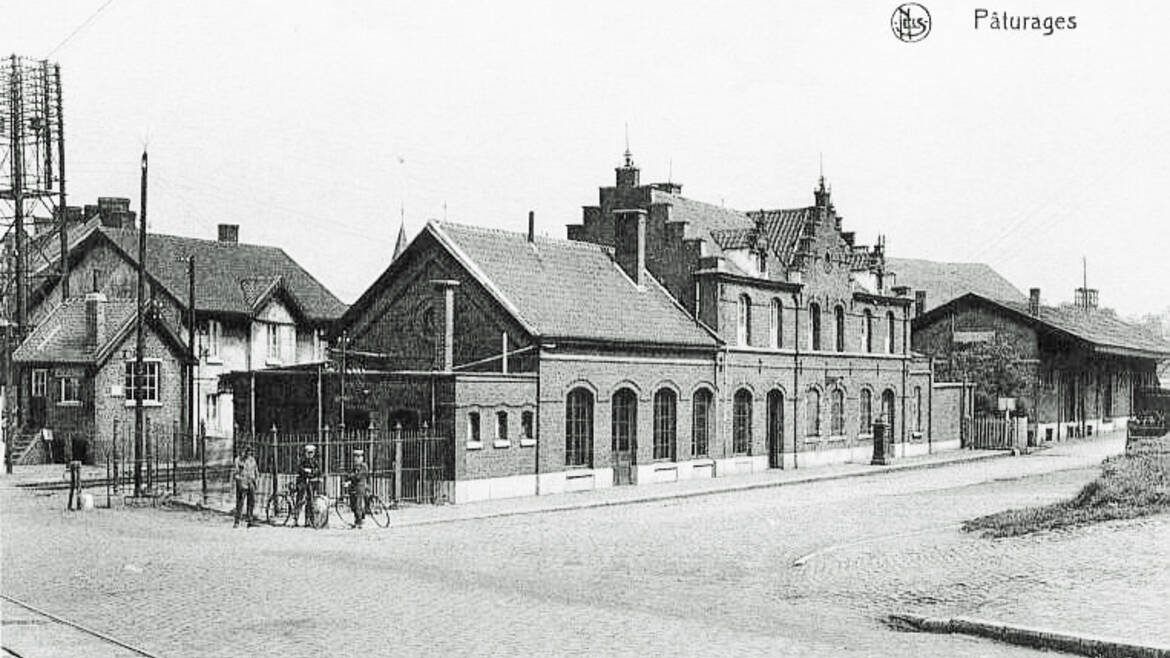 Former train station of Paturages