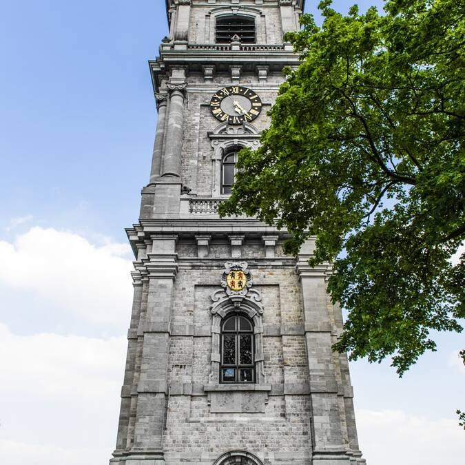 Seul beffroi baroque de Belgique, le beffroi de Mons a été classé à l'Unesco en 2005 - Copyright Grégory Mathelot